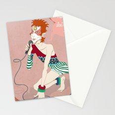 Bowie Ziggy  Stationery Cards
