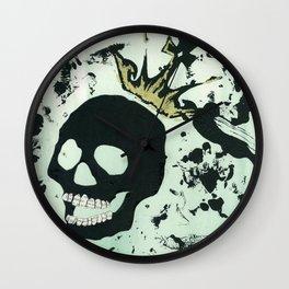 Last Laughing Skull Wall Clock