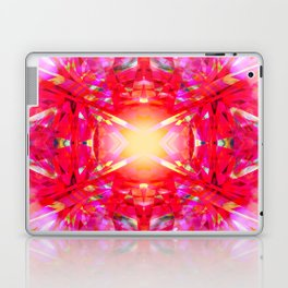 Colourful kaleidoscope pattern Laptop & iPad Skin