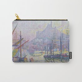 View of the Port of Marseilles Carry-All Pouch