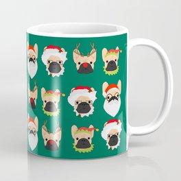 Xmas Bulldogs Coffee Mug
