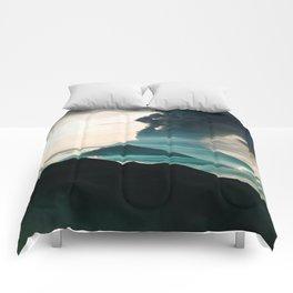 Mount Agung Volcanic Eruption Comforters