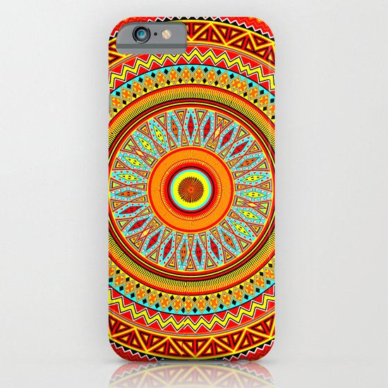 Mandala Aztec Pattern 5 iPhone & iPod Case