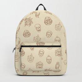 Little Monsters (ivory) Backpack