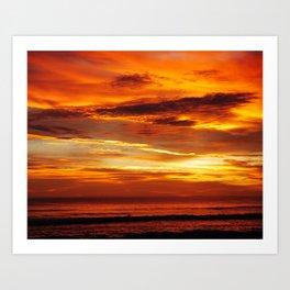 Another Beautiful Costa Rica Sunset Art Print