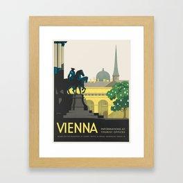 Vintage poster - Vienna Framed Art Print