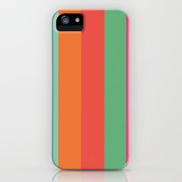Stripes Colours iPhone Case