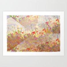 Floral Fantasy Art Print