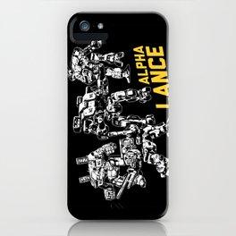 Alpha Lance iPhone Case