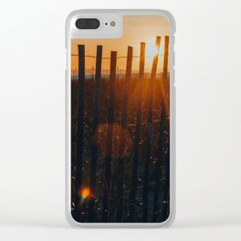 She Would See the Day Through to the End Clear iPhone Case
