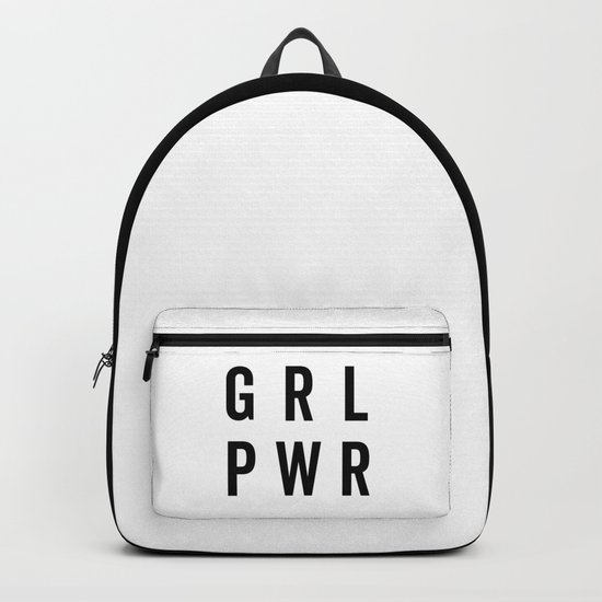 GRL PWR / Girl Power Quote by envyart