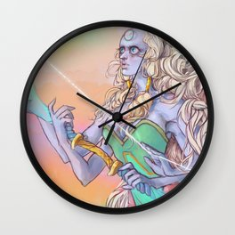 A Giant Woman! (Opal) Wall Clock