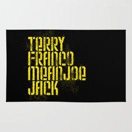 Terry Franco Mean Joe Jack / Black Rug