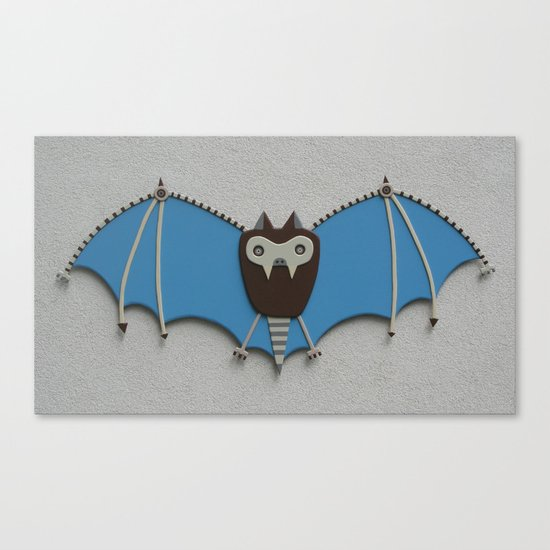 The bat! Canvas Print