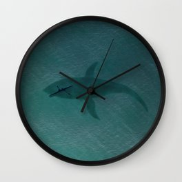 Close Encounters Of The Sea Wall Clock