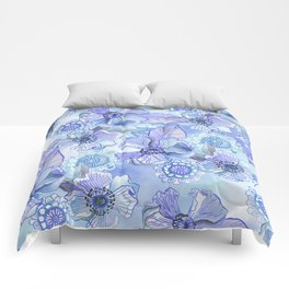 Lil' Garden Party in Blue Comforters
