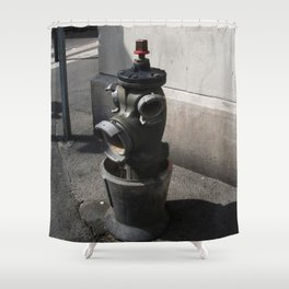 Marseilles Hydrant Shower Curtain