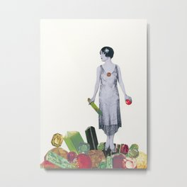 Jewel Thief Metal Print