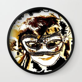 Maske Wall Clock