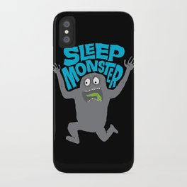 Sleep Monster iPhone Case