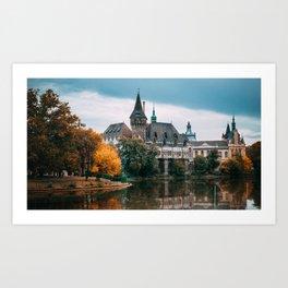 Vajdahunyad Castle, Budapest Art Print