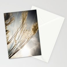 sunlight in the field Stationery Cards