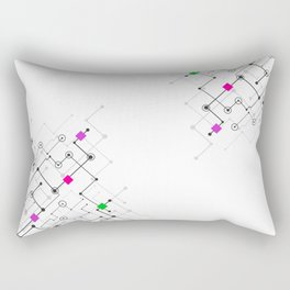 Modern lines Rectangular Pillow