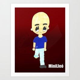 MiniLleó Art Print