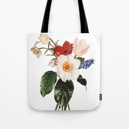 Spring Flowers Bouquet Tote Bag