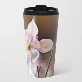 White columbine flowers Travel Mug