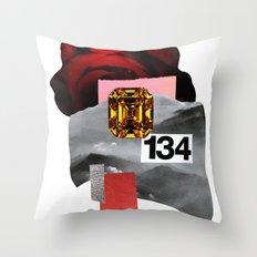 skyrose Throw Pillow