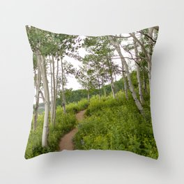 Snodgrass Trail 1 Throw Pillow
