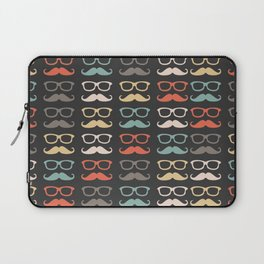 Mustache Life  Laptop Sleeve