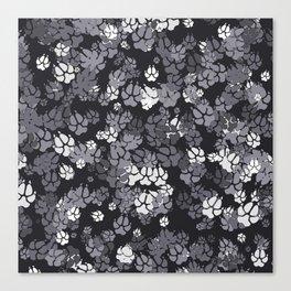 Canine Camo URBAN Canvas Print