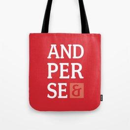 Ampersand Series - #5 Tote Bag