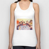 haikyuu Tank Tops featuring Post Practice Lunch by AndytheLemon