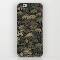 Invaders camouflage iPhone & iPod Skin