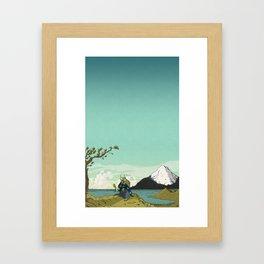 Kirunosuke Travels To Tengachaya Framed Art Print