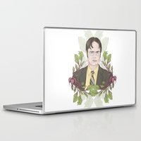 dwight Laptop & iPad Skins featuring Bears, Beets and Battlestar Galactica by Laura Francis Design
