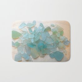 Ocean Hue Sea Glass Bath Mat