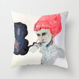 QUEEN OF PEACE Throw Pillow