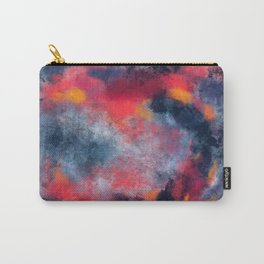 Abstract Texture Digital Painting Carry-All Pouch