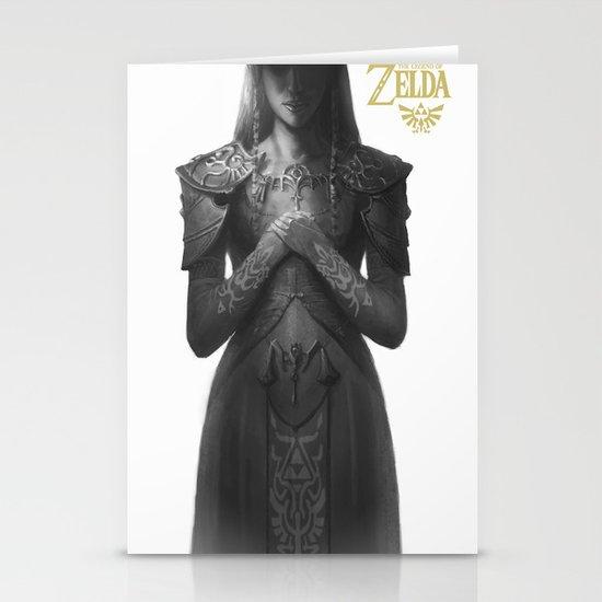 Princess Zelda Stationery Cards