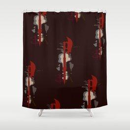 Buffy & Angel Shower Curtain