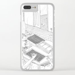beegarden.works 016 Clear iPhone Case
