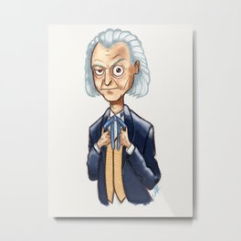 The First Doctor - William Hartnell Metal Print