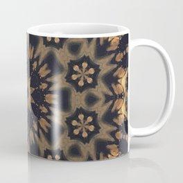 September Wildflowers // Gypsy Hippy Boho Bohemian Abstract Flower Circular Mandala Geometric Earthy Coffee Mug