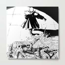WRATH OF GOD - Digging up the corpses Metal Print