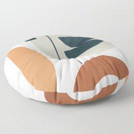 Minimal Shapes No.37 Floor Pillow