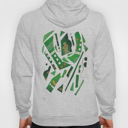 Carrousel collage Hoody
